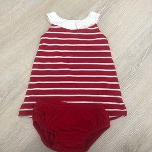 Gymboree Baby Girl Dress Size 6-12 M Striped Dress
